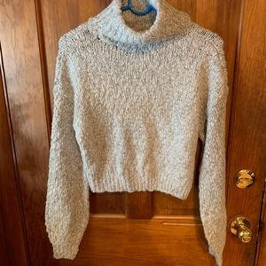 NWOT Hollister Crop Knitted Sweater XS